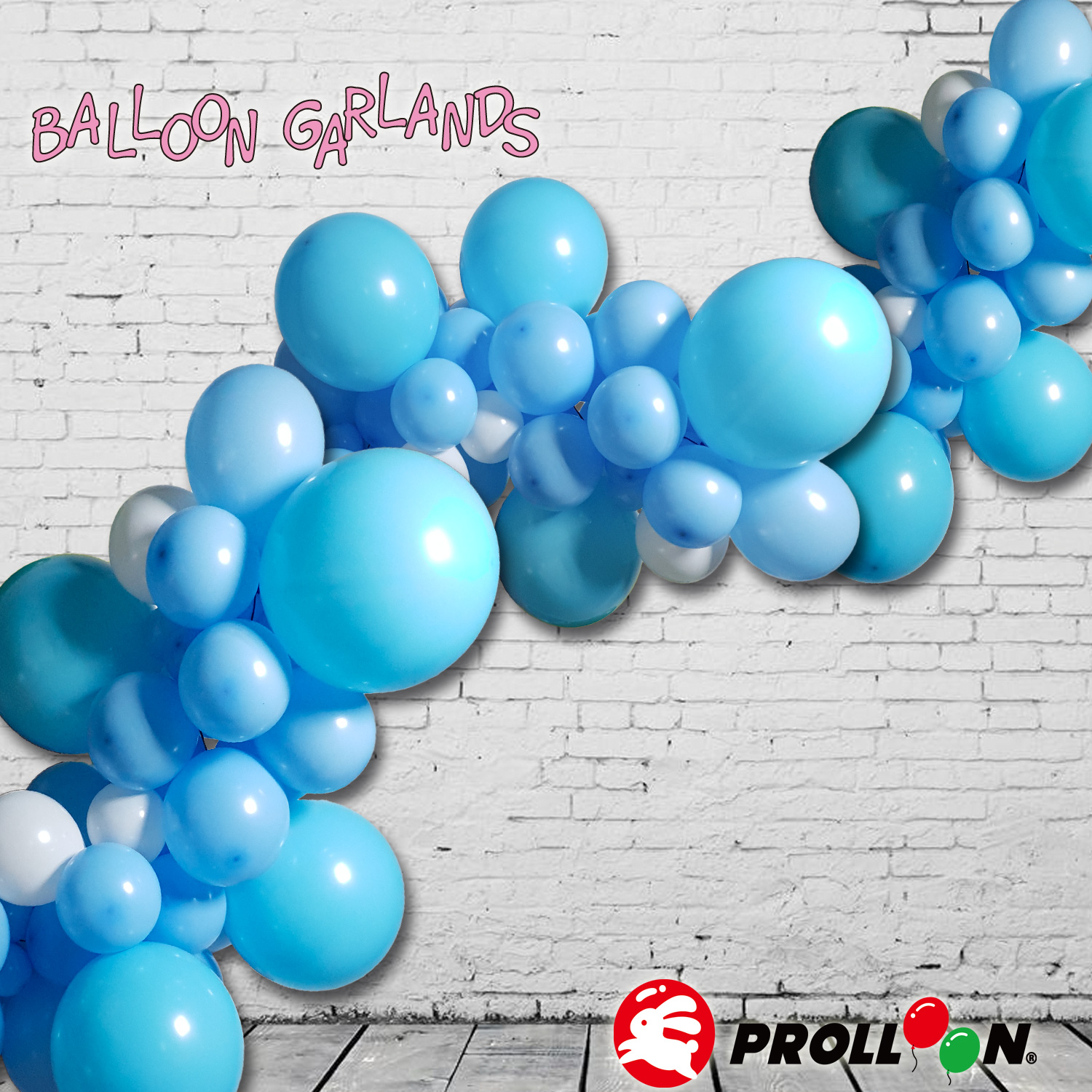 Balloon Garlands - Birthday Boy Blue Balloon Arch Kit // Balloon Garland//Baby Shower // Party Decor