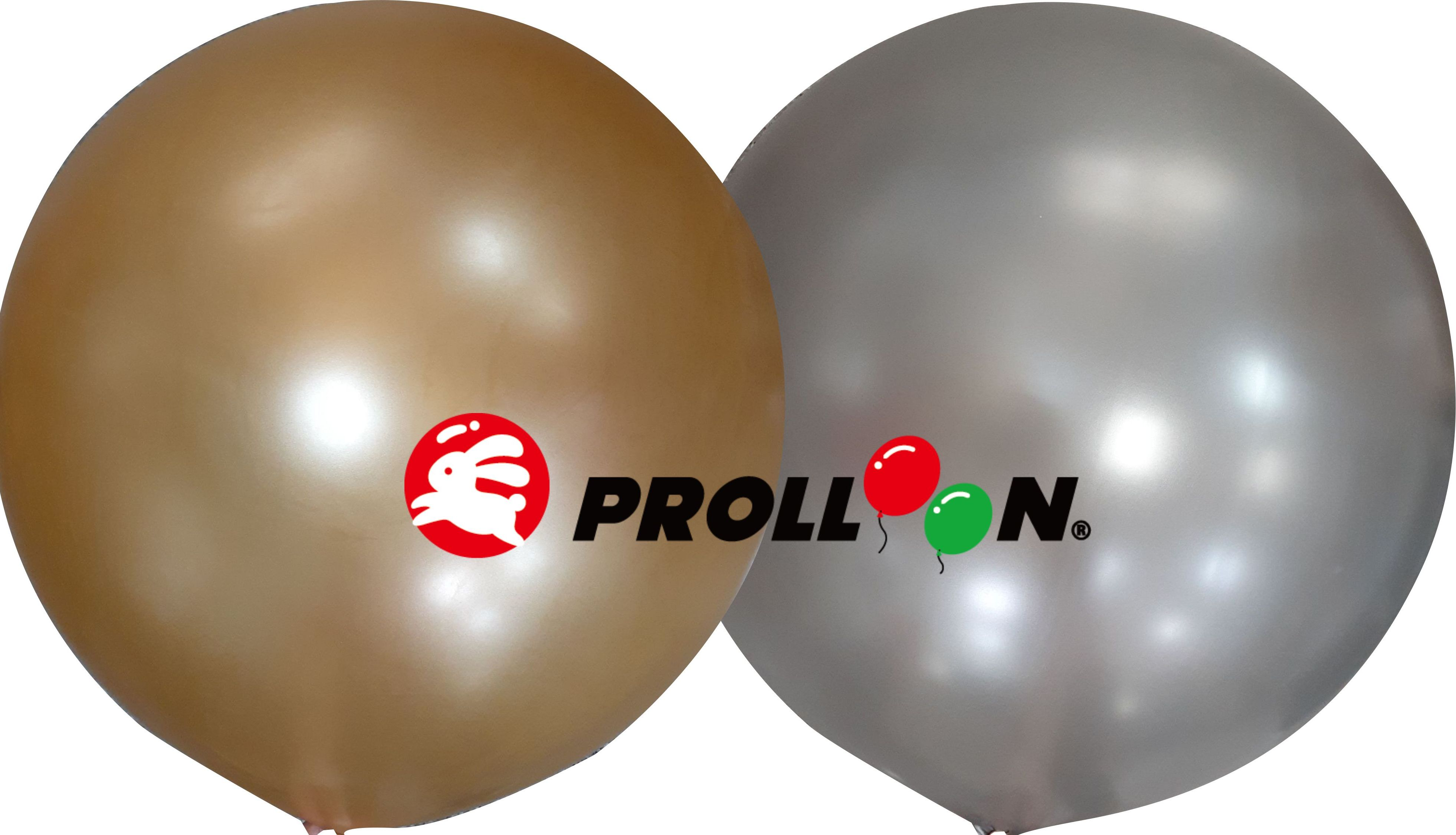 "36""Ø-685SK Giant Gold and Siiver Balloons"